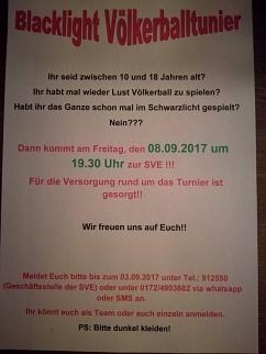 Backlight Völkerballturnier©Sportvereinigung Erichshagen