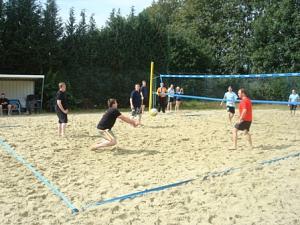 Beachvolleyball-Turnier