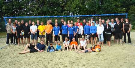 Beachvolleyball-Turnier