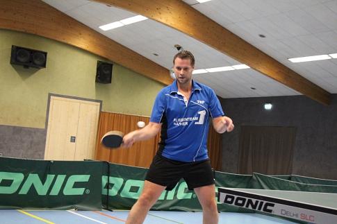 Björn Röske in Aktion