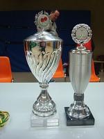 Die Pokale der Vereinsmeisterschaft 2014