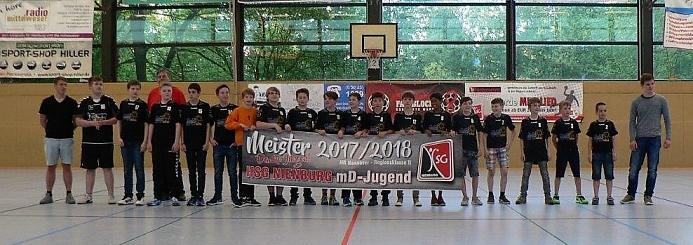 HSG mD Meister©Sportvereinigung Erichshagen