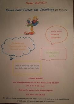 Kurs Eltern-Kind-Turnen©Sportvereinigung Erichshagen