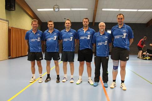 Mannschaftsfoto der SVE I