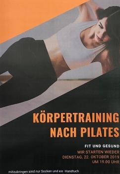 Körpertraining nach Pilates©SV Erichshagen