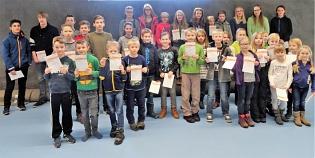 Sportabzeichenverleihung Kinder 2016
