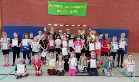 Teilnehmer HM-Leichtathleten©Sportvereinigung Erichshagen