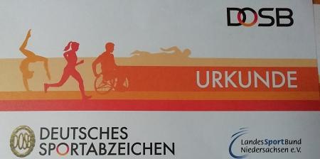 Urkunde©Sportvereinigung Erichshagen