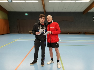 Vereinsmeister im Doppel 2018©Sportvereinigung Erichshagen